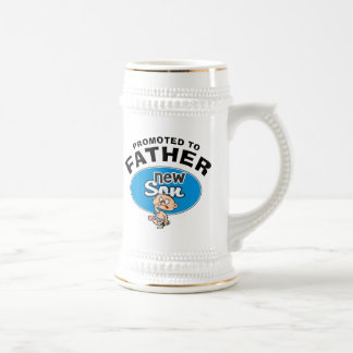 Funny New Father New Son Beer Stein
