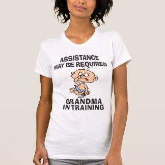 Funny New Grandma T-Shirt Shirt