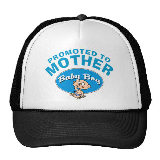 Funny New Mother First Boy Cap