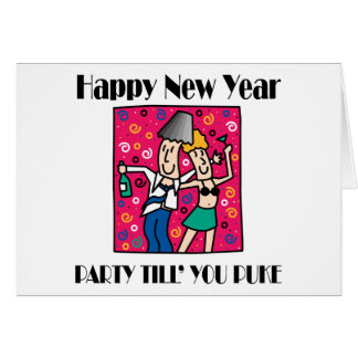 Funny New Year's Eve Greeting Cards