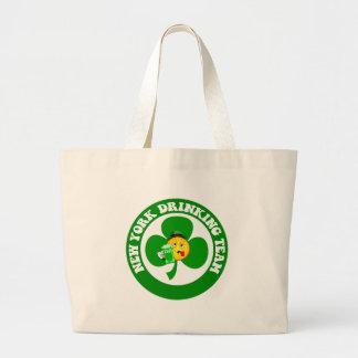 Funny New York St Patrick's Day Tote Bag