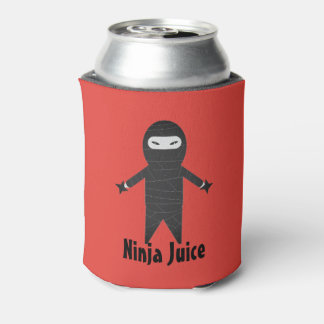 Funny Ninja Juice Beer Drink Cooler