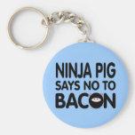 Funny Ninja Pig Says No to Bacon