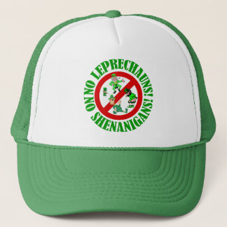 Funny no leprechauns   St Patrick's day Trucker Hat