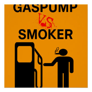 Funny No Smoking Remix Sign Safety Posters
