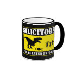 Funny No Soliciting Coffee Mugs