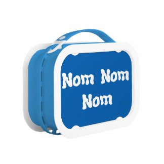 Funny Nom Nom Nom lunchbox