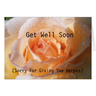 Funny Nonsense Get Well Soon Greeting Card