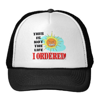 Funny Not My Life T-shirts Gifts Trucker Hats