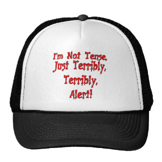 Funny Not Tense T-shirts Gifts Mesh Hat