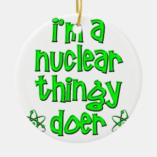 funny nuclear christmas ornament