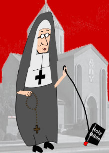 Funny nun birthday cards zazzle uk funny nun greeting cards m4hsunfo