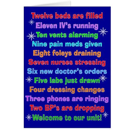 Funny Nurse Christmas Cards