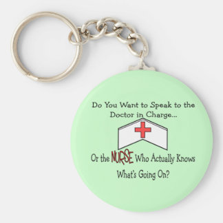 Funny Nurse Gifts Key Ring