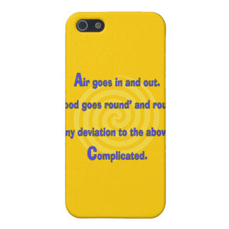 Funny Nurse or Respiratory Therapy Gifts Case For iPhone 5/5S