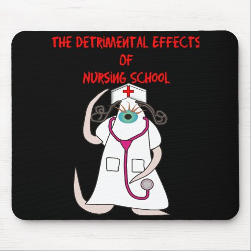 Funny Nursng School T-Shirts and Gifts Mouse Pad