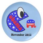 Funny Obama 2012 Plate