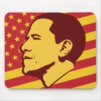 Funny Obama Socialist America Mouse Pad