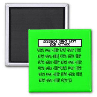 Funny OCD Square Magnet