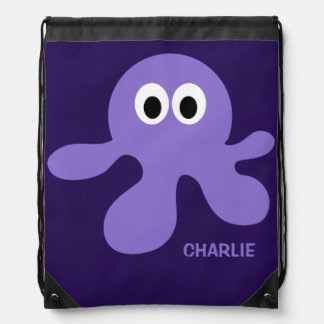 Funny Octopus custom backpack