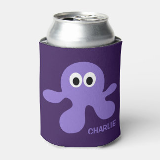 Funny Octopus custom can cooler