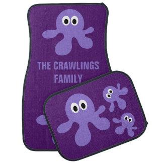 Funny Octopus custom car floor mats