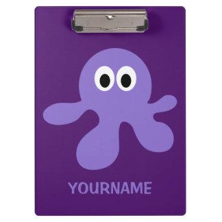 Funny Octopus custom clipboard