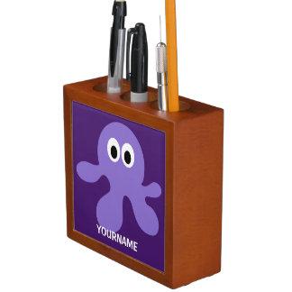 Funny Octopus custom desk organizer Desk Organisers