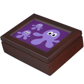Funny Octopus custom keepsake box