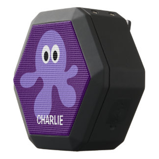 Funny Octopus custom monogram bluetooth speaker