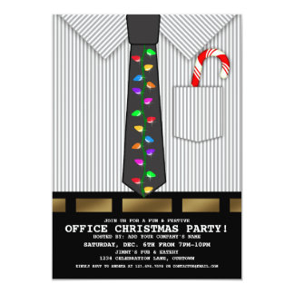 Funny Office Christmas Party Announcement
