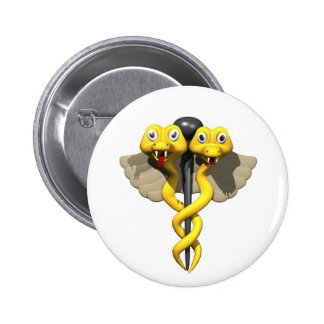 Funny Office Medical 6 Cm Round Badge