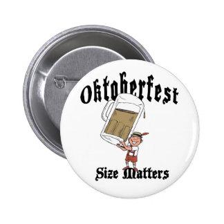 Funny Oktoberfest Drinking Button