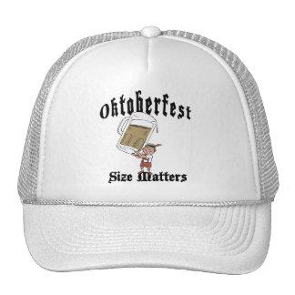 Funny Oktoberfest Drinking Mesh Hat