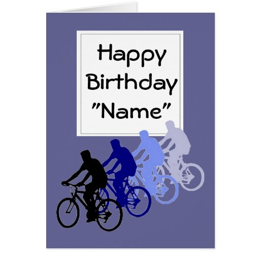 Funny Old Age, Birthday, Bike, Cycle, Sport Greeting Card