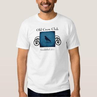 Funny Old Crow Club tee shirt