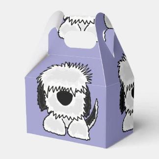 Funny Old English Sheepdog Art Favour Box