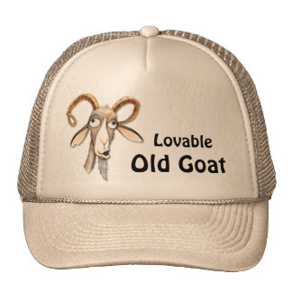 Funny Old Goat Cap