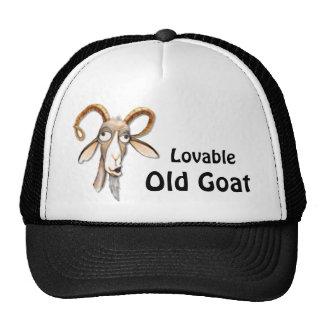 Funny Old Goat Cap