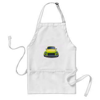 funny old modified car aprons