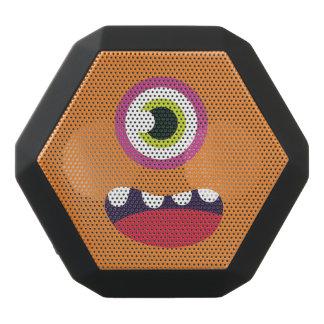 Funny One-Eyed  Cute Monster. Black Bluetooth Speaker