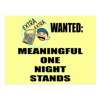 Funny One Night Stand T-shirts Gifts Postcard