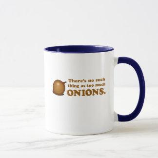 Funny Onions Mug