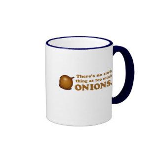 Funny Onions Ringer Mug