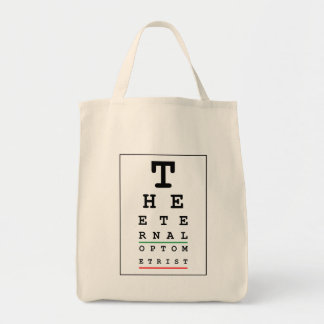 Funny Optician Tote Bag