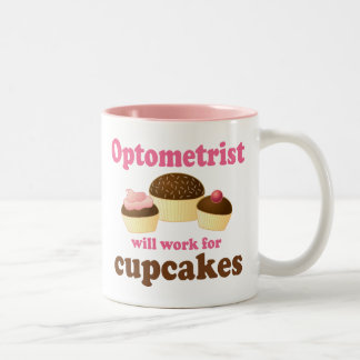 Funny Optometrist Two-Tone Coffee Mug