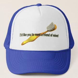 Funny Oral Hygiene Humor Trucker Hat