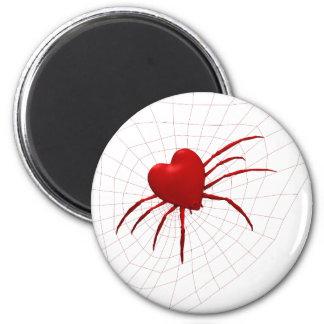 Funny Orb-Weaver Spider 6 Cm Round Magnet