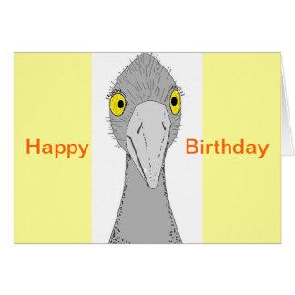 Funny Ostrich Card