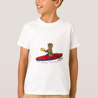 Funny Otter Kayaking Tshirts